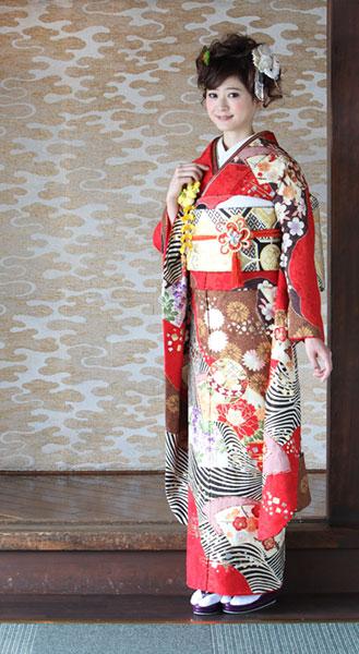 商品No.k-149 アンアン レンタル・販売 振袖メイン画像