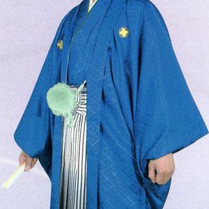 商品No.no_128 紋付袴レンタル 紺メイン画像