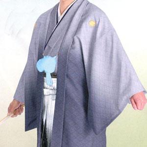 商品No.no_133 紋付袴レンタル グレーボカシメイン画像